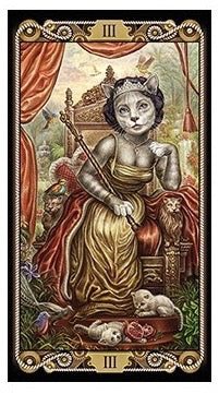 Cat Tarot -- DragonSpace