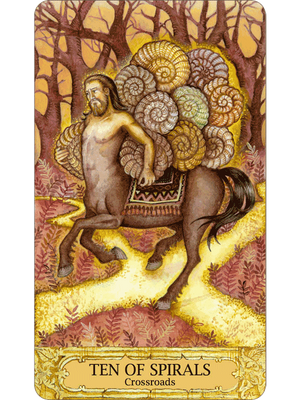 Chrysalis Tarot -- DragonSpace