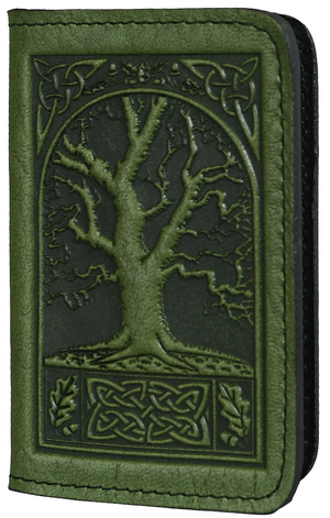 Celtic Oak Card Holder -- DragonSpace