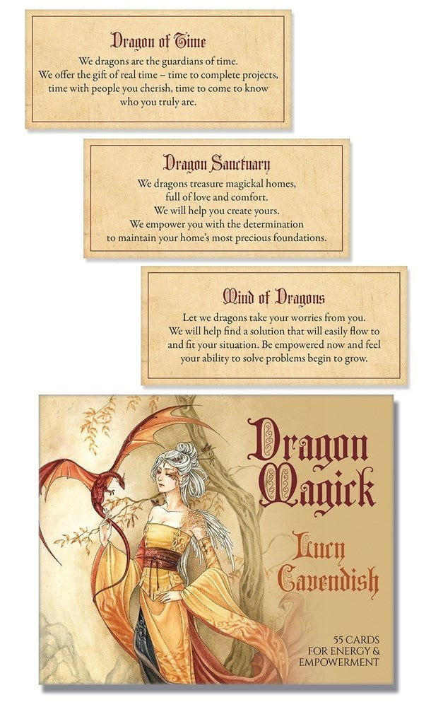 Dragon Magick Affirmation Deck