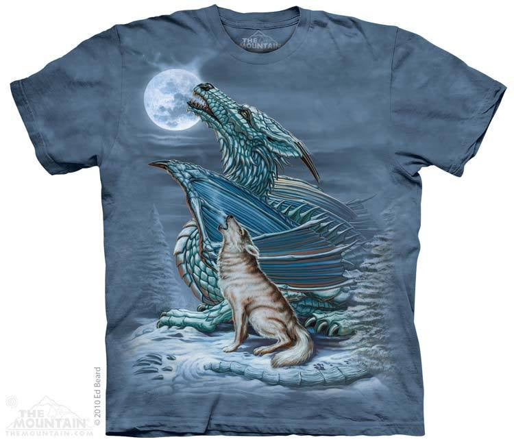 Dragon Wolf T-Shirt -- DragonSpace