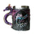 Purple Dragon Handle Mug
