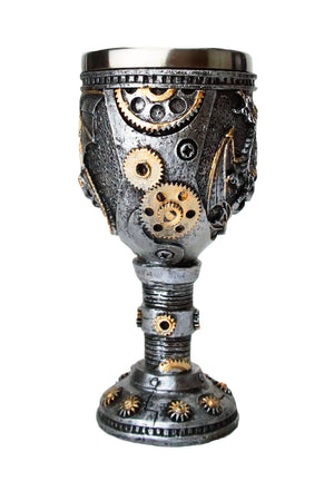 Steampunk Dragon Goblet -- DragonSpace