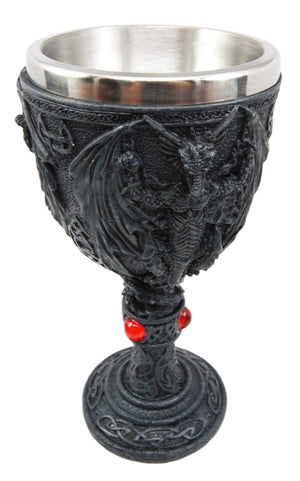 Black Dragon Goblet -- DragonSpace