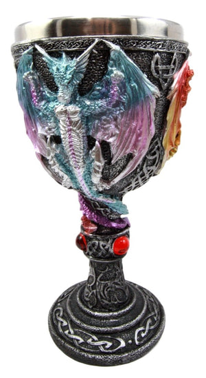 Colourful Dragon Goblet -- DragonSpace