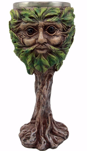 Greenman Goblet -- DragonSpace