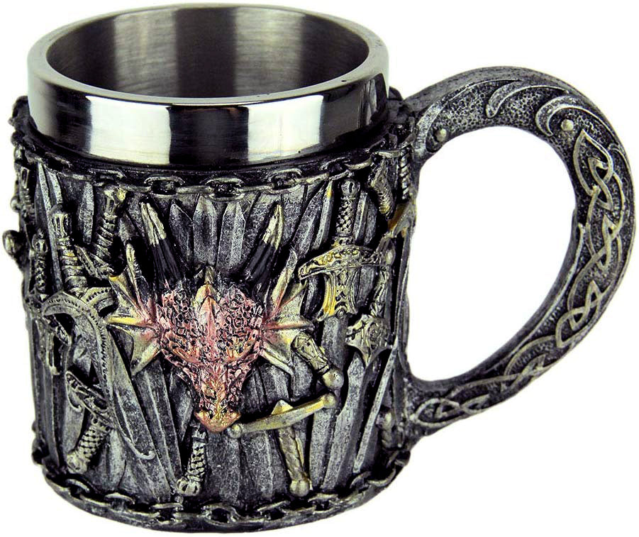 Dragon Head Swords Mug