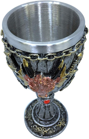 Dragon Head Swords Goblet
