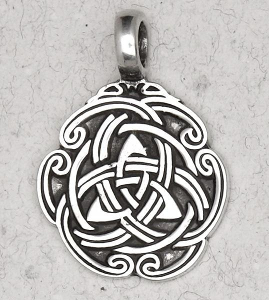 Celtic Weave Necklace -- DragonSpace