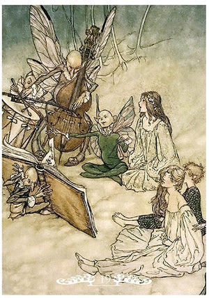 Arthur Rackham Fairy Oracle -- DragonSpace