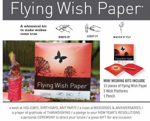 Orange Blossom Flying Wish Kit