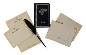 Game of Thrones: House Stark Stationery Set (With Pen)