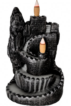 Castle Backflow Incense Burner