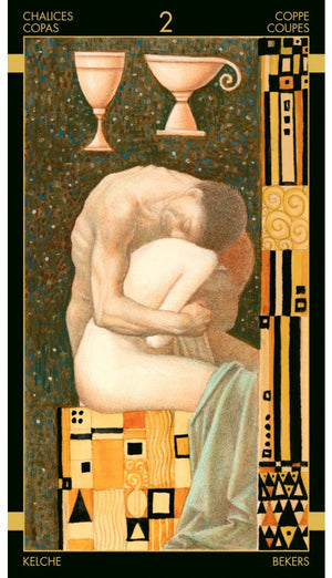 Golden Tarot of Klimt -- DragonSpace