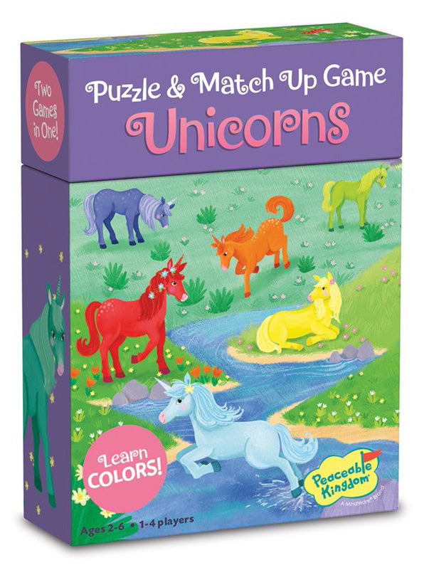 Unicorn Color Match Up Game