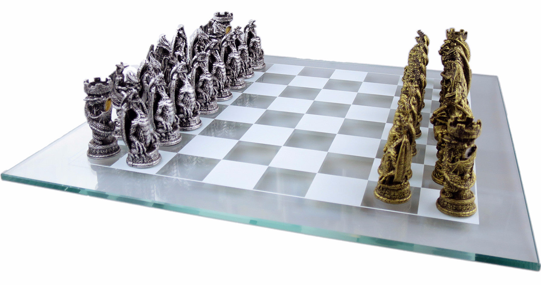 Medieval Dragons Chess Set