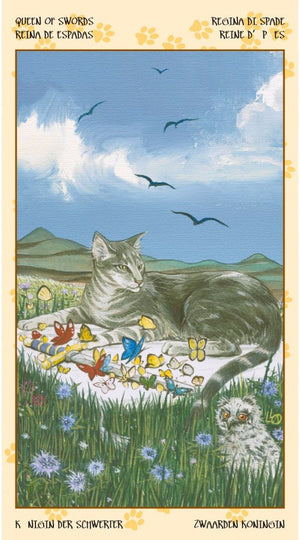 Tarot of Pagan Cats -- DragonSpace