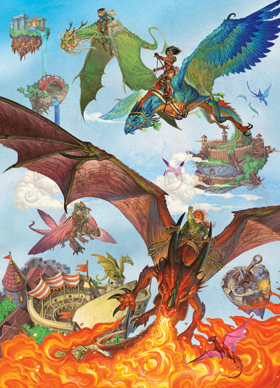 Dragon Flight Family Puzzle (350 Pieces)