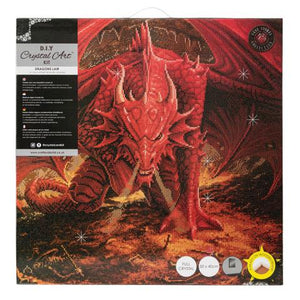 Dragon's Lair Crystal Art Kit