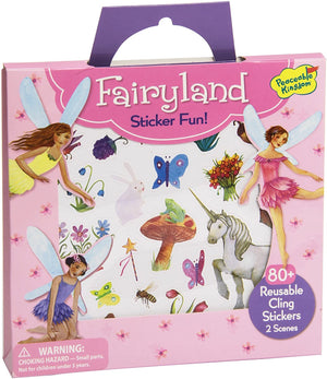 Fairyland Reusable Sticker Tote
