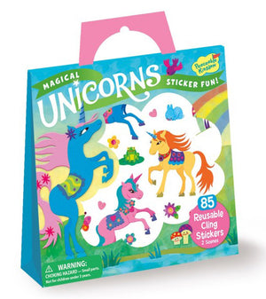 Unicorns Reusable Sticker Tote