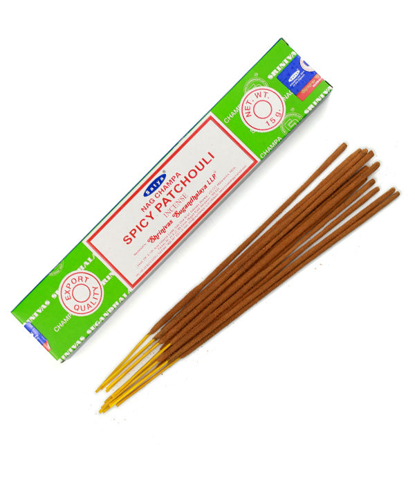 Spicy Patchouli Incense