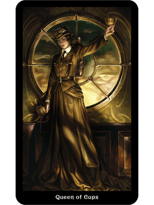 Steampunk Tarot -- DragonSpace