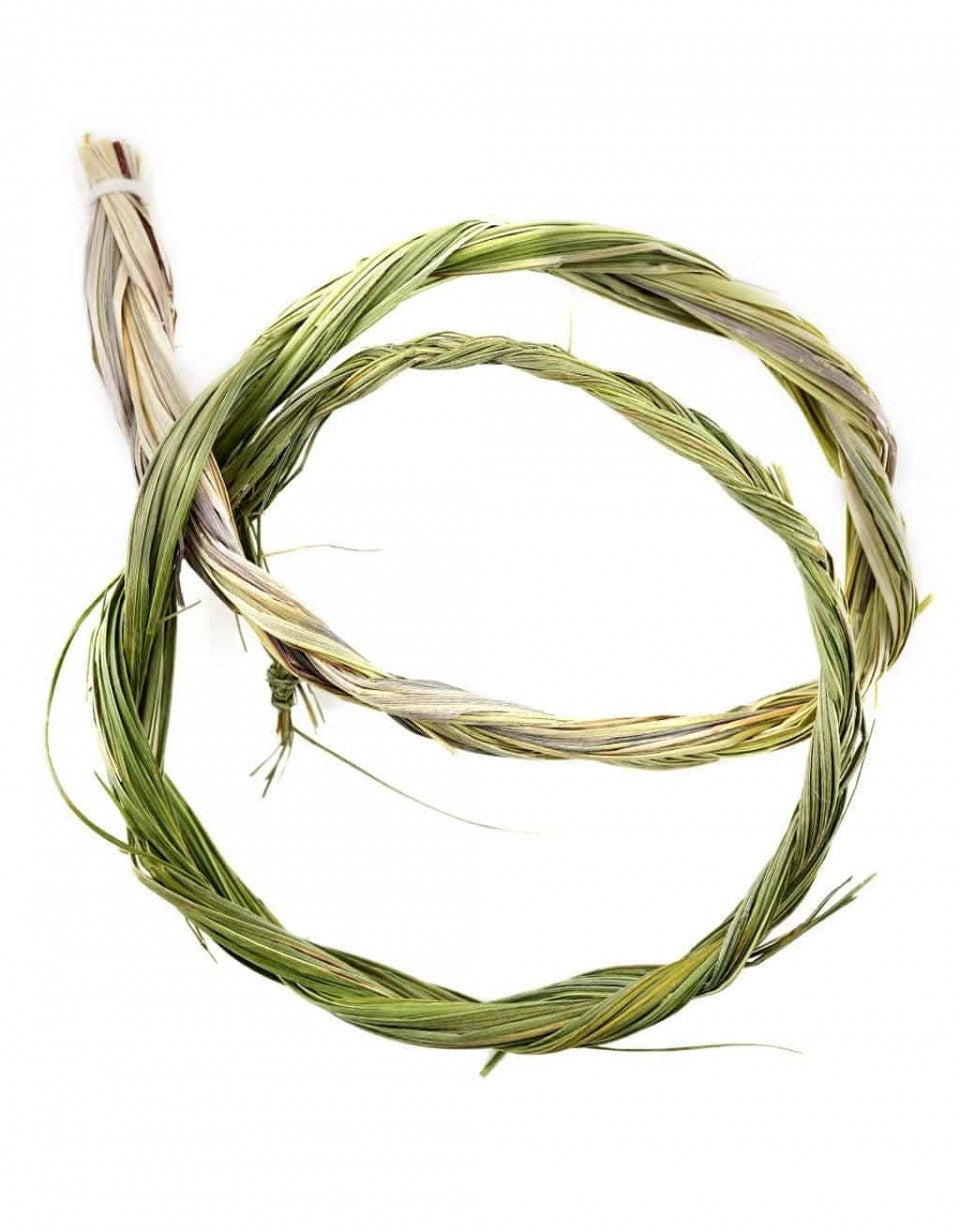 "Sweetgrass Braid (22"") -- DragonSpace"