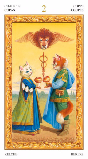 Tarot of White Cats -- DragonSpace