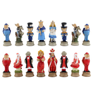 Alice in Wonderland Chess Pieces -- DragonSpace