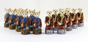 Cats & Dogs Chess Pieces -- DragonSpace