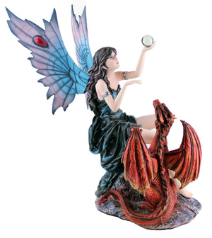 Crystal Ball Fairy & Dragon