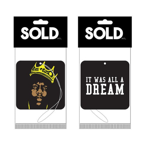 Sold - BIGGIE AIR FRESHENER