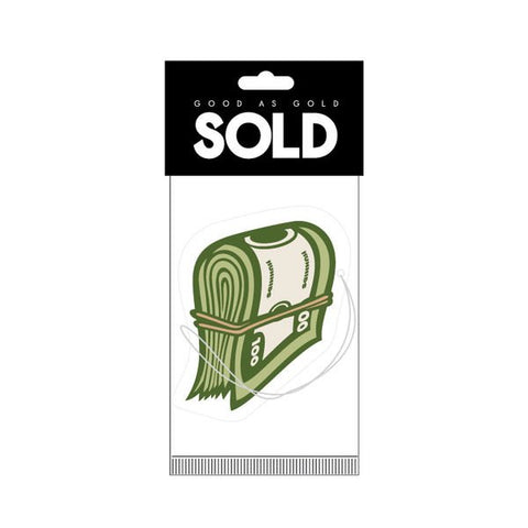 Sold - MONEY BANDS AIR FRESHENER