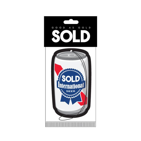 Sold - BEER AIR FRESHENER