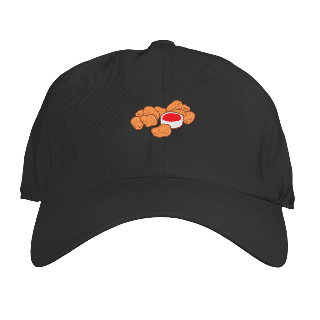 Function - Chicken Nuggets With Ketchup Sauce Embroidered Dad Hat