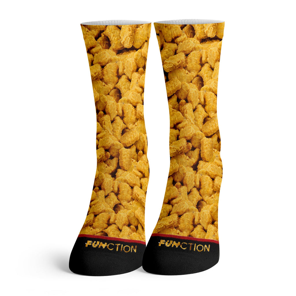 Function Chicken Nuggets All Over Fashion Sock