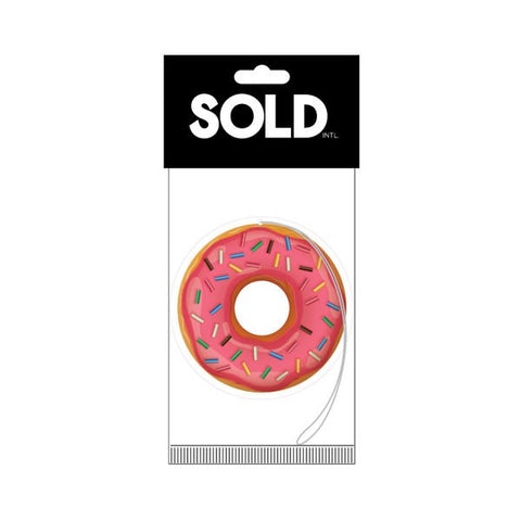 Sold - SPRINKLED DONUT AIR FRESHENER