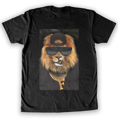 Function - Gangster Lion Men's Fashion T-Shirt