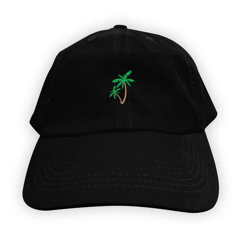 Function - Palm Tree Men's Dad Hat Black