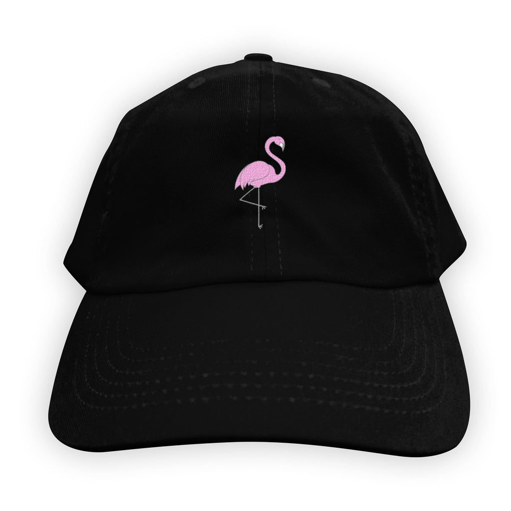 Function   Pink Flamingo Men's Dad Hat Black