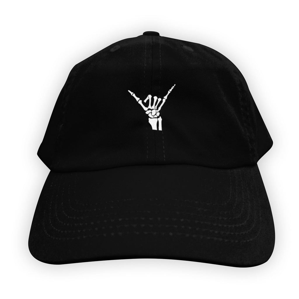 Function - Skeleton Shaka Men's Dad Hat Black