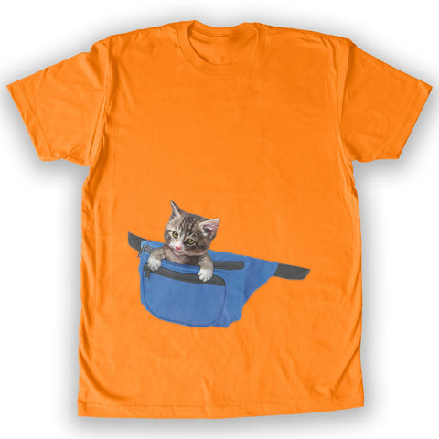 Function - Cat Fanny Pack Men's Fashion T-Shirt