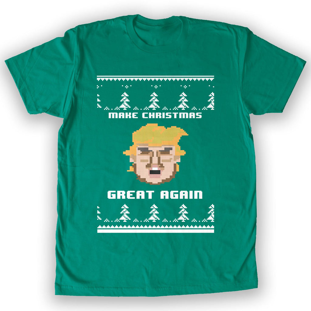 Function - Trump Make Christmas Great Again Men's Fashion T-Shirt