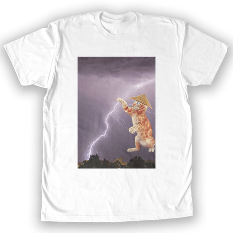 Function - Lightning Cat Men's Fashion T-Shirt