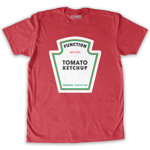 Function - Halloween Ketchup Couples Costume T-Shirt