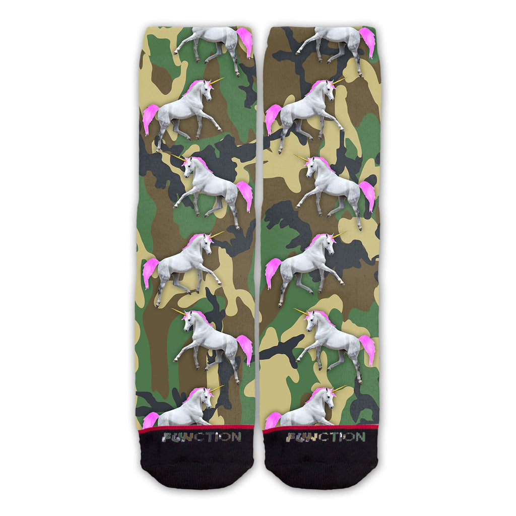 Function - Camo Unicorns Fashion Socks