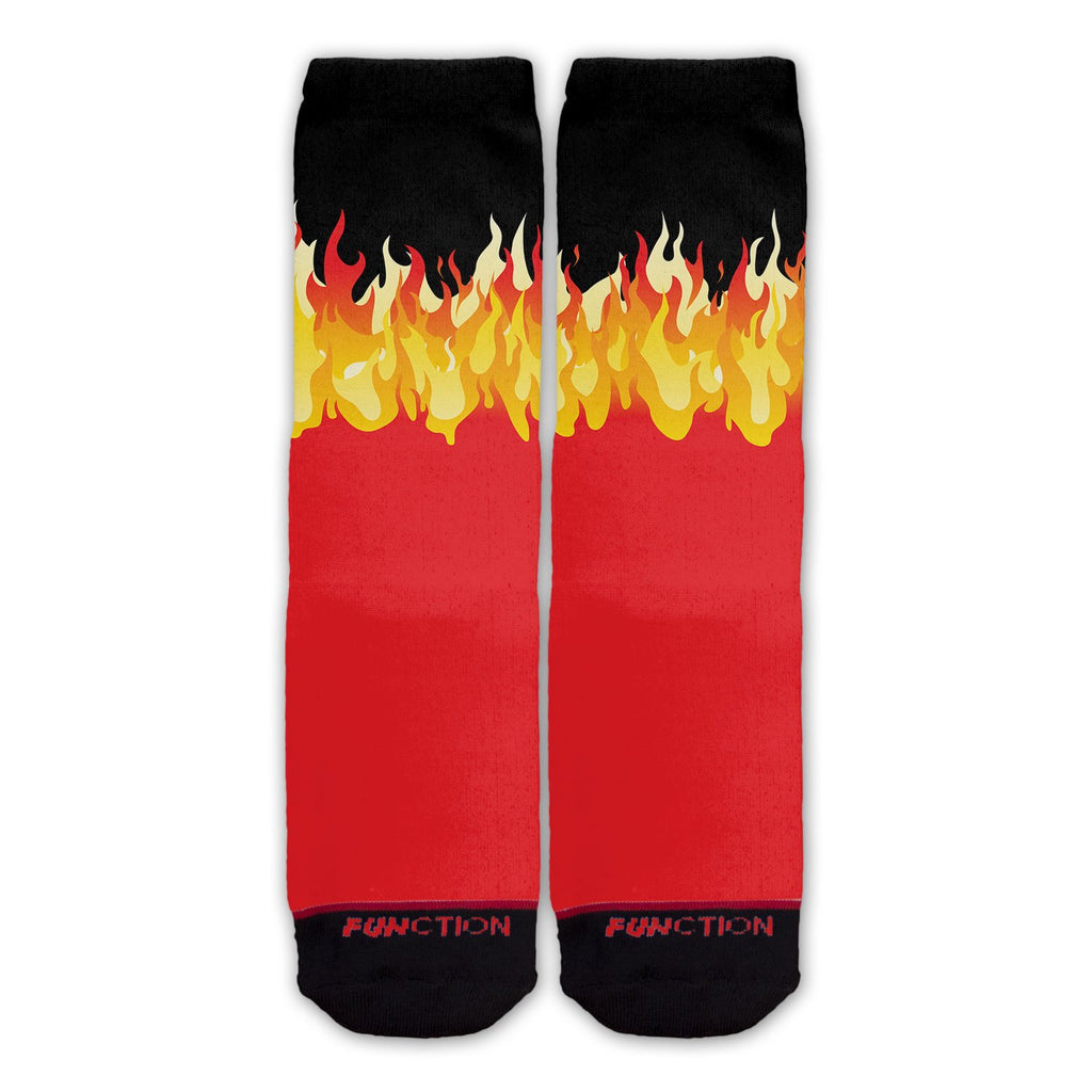 Function - Cartoon Fire Fashion Socks