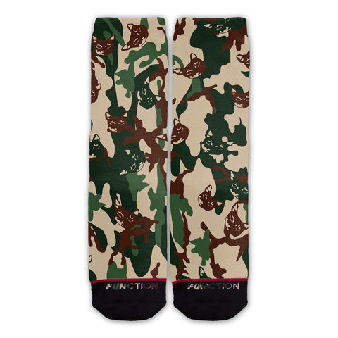 Function - Cat Camo Fashion Socks