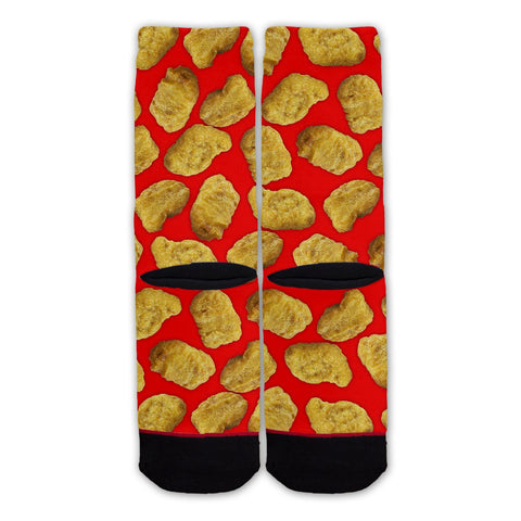 Function - Chicken Nuggets Pattern Fashion Sock